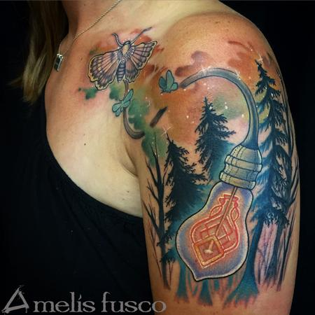 Tattoos - Spark in a forest 2 - 114825
